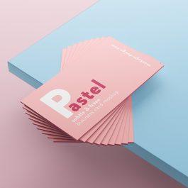 Tarjetas color 1 cara